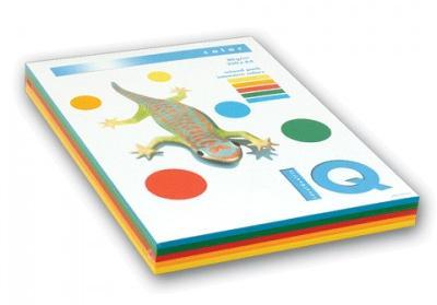 A4.80.IQ.RB01.250 Набор цветной бумаги iQ COLOR, 250л пастель